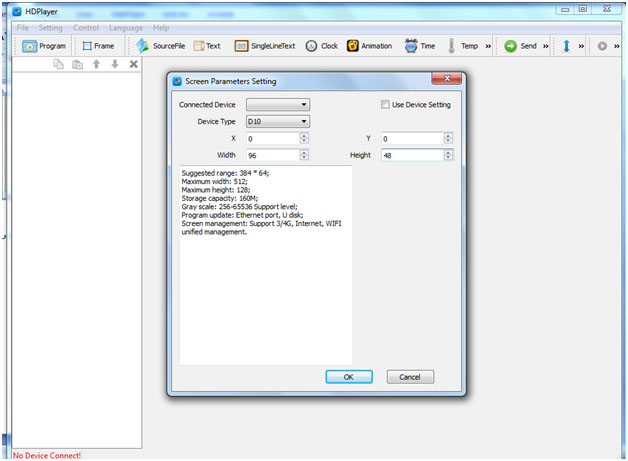 HDPLAYER2 - آموزش برنامه ریزی تابلو روان فول کالر