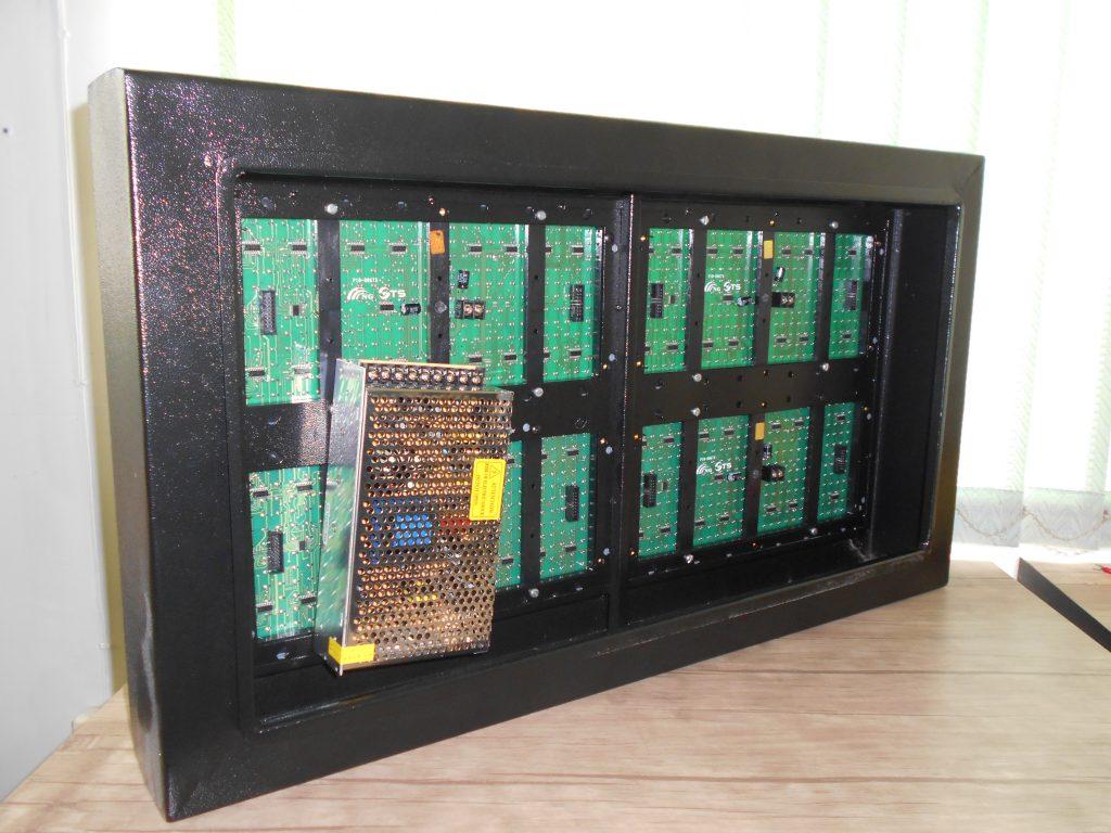 DSCN0591 1024x768 - ساخت تابلو ال ای دی